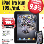 Leasys iPad reklame